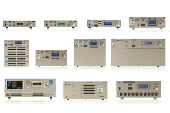 The lineup of cable harness testers
