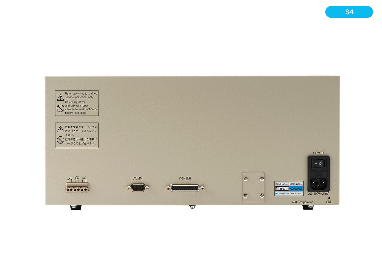 ハーネスマルチテスター(ハーネスチェッカー)nacman NM1500P-S4 背面