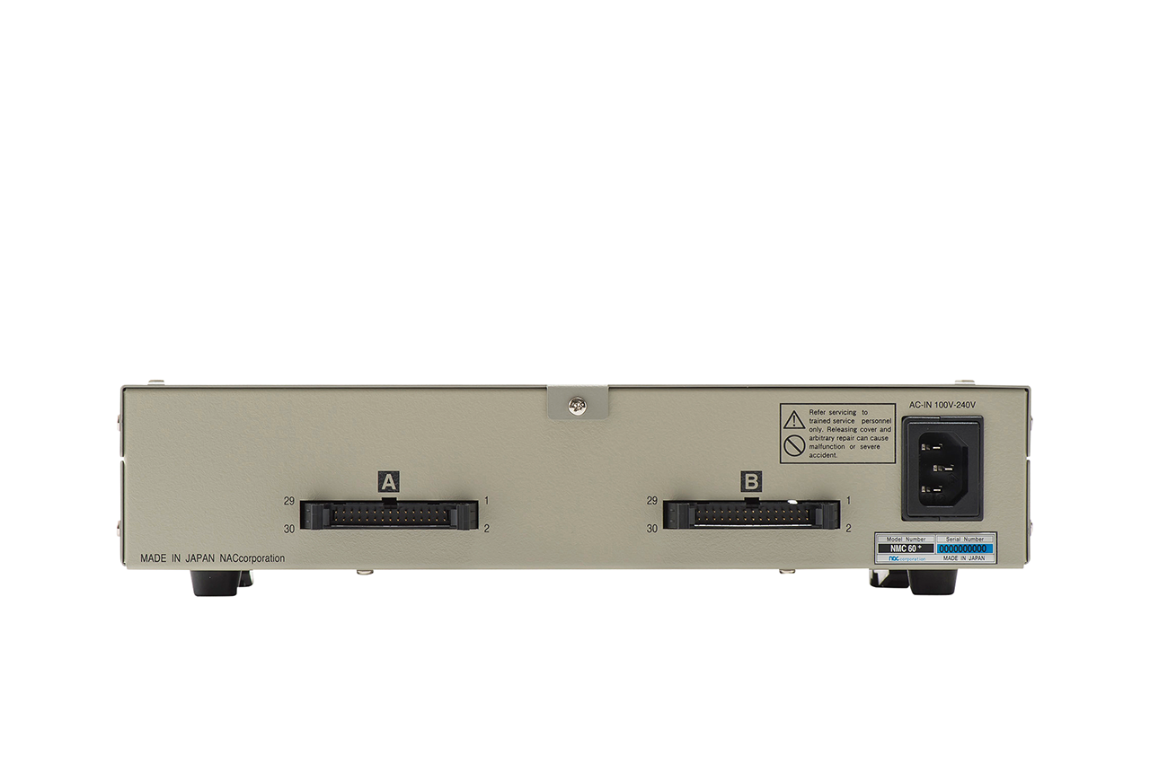 ハーネスチェッカー nacman NMC60+ 背面