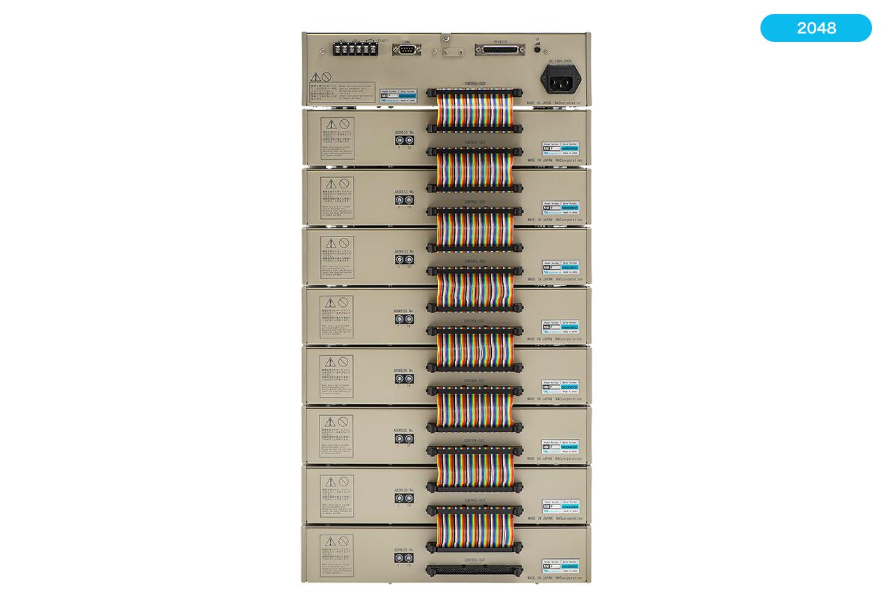 ハーネステスター(ハーネスチェッカー)nacman NMF2048 背面