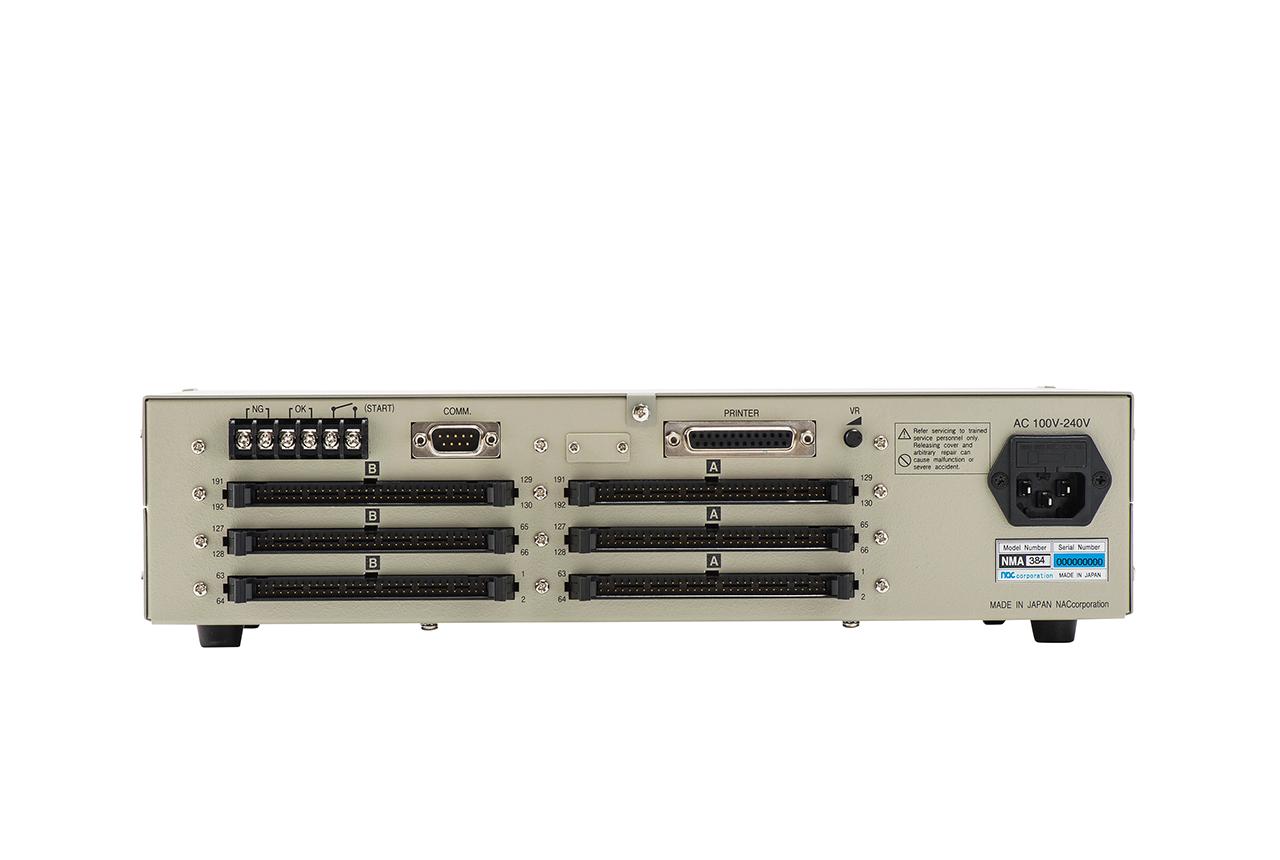 ハーネステスター(ハーネスチェッカー)nacman NMA384 背面