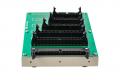 ハーネス検査用 変換アダプタ治具 NM-ADP-02Lの背面コネクタ