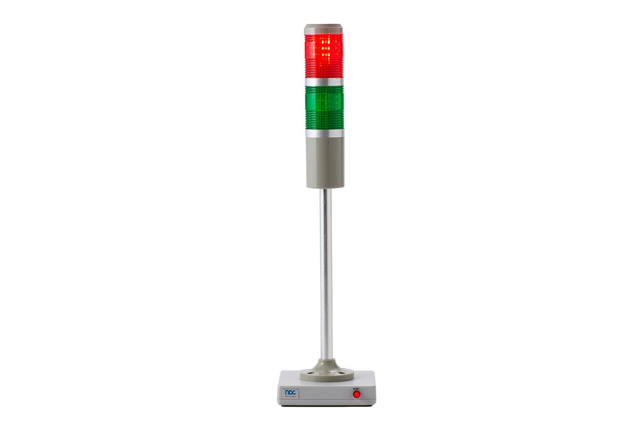 ハーネスチェッカー、ハーネステスタ、ハーネスマルチテスタ用OK/NGランプ NM-LED02(NG点灯)