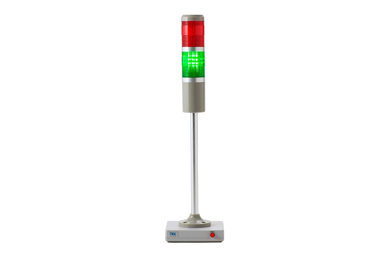 ハーネスチェッカー、ハーネステスタ、ハーネスマルチテスタ用OK/NGランプ NM-LED02(OK点灯)