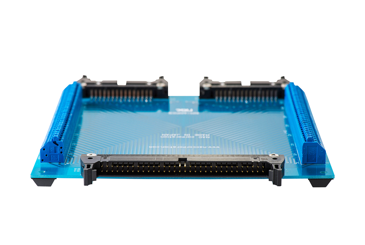 ハーネス検査(ハーネスチェッカー)用 治具基板 NMADP-03のコネクタ(64pin)