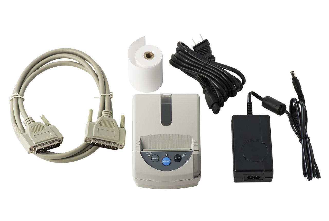 ハーネス検査器(ハーネスチェッカー)に接続できる感熱紙プリンタセット