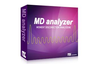 瞬間断線試験/測定用のPCソフト MD Analyzer