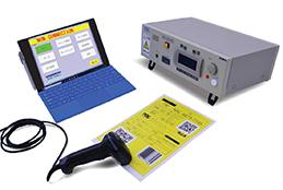 ハーネス検査用PCソフトウェア、WireExpressのバーコード版