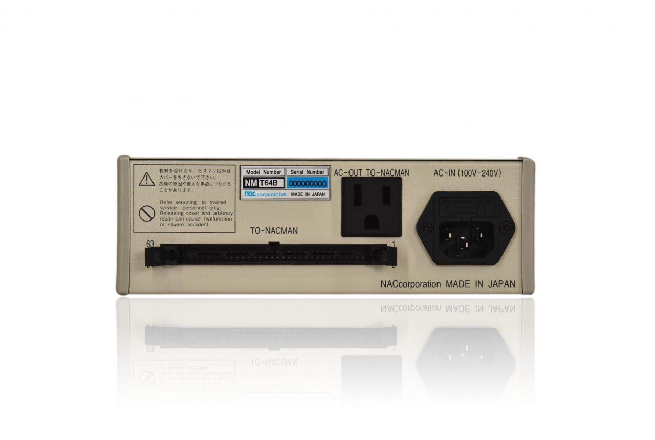 指タッチセンサー NMT64Bの背面 ハーネス検査