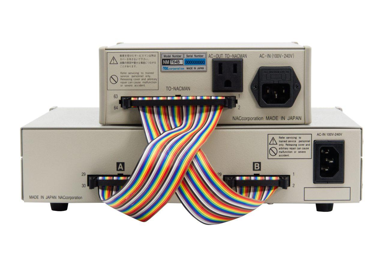 ハーネスチェッカー NMC60+用NMT64B接続ケーブル NMCBL-C60T-LINK 接続例
