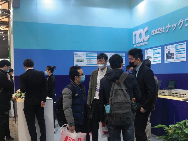 ワイヤーハーネス検査器メーカー ナックコーポレーションの展示会2