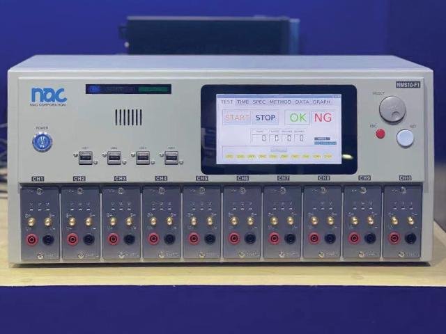 瞬間断線解析器のNMS10-F1の展示